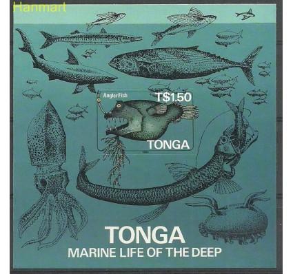 Znaczek Tonga 1985 Mi bl6B Czyste **
