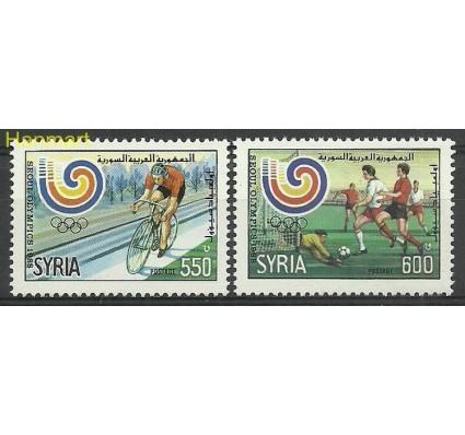 Znaczek Syria 1988 Mi 1725-1726 Czyste **