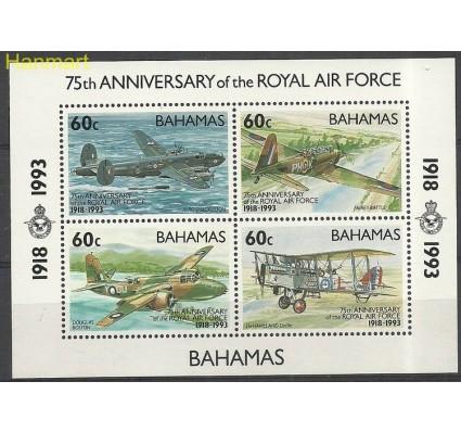 Znaczek Bahamy 1993 Mi bl 71 Czyste **