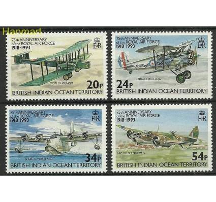 Znaczek Brytyjskie Terytorium Oceanu Indyjskiego 1993 Mi 136-139 Czyste **