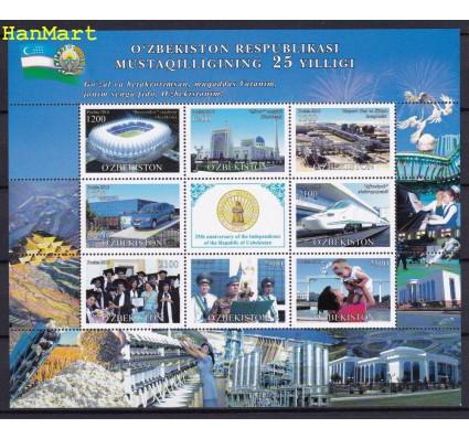 Znaczek Uzbekistan 2016 Mi ark1154-1161 Czyste **