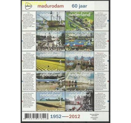 Znaczek Holandia 2012 Mi ark 2970-2979 Czyste **
