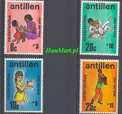 Antyle Holenderskie 1970 Mi 224-227 Czyste **