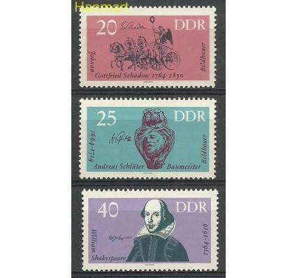 Znaczek NRD / DDR 1964 Mi 1009-1011 Czyste **