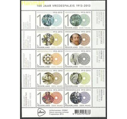 Znaczek Holandia 2013 Mi ark 3145-3154 Czyste **