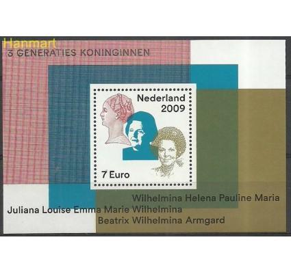 Znaczek Holandia 2009 Mi bl 117 Czyste **