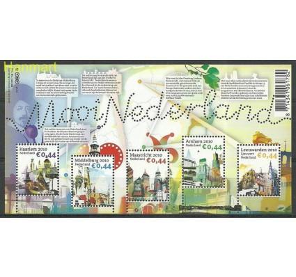 Znaczek Holandia 2010 Mi bl 128 Czyste **