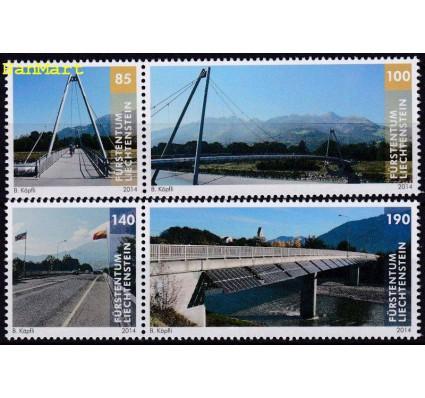 Znaczek Liechtenstein 2014 Mi 1703-1706 Czyste **