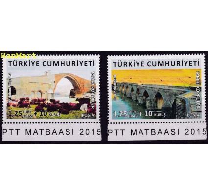 Znaczek Turcja 2015 Mi 4167-4168 Czyste **