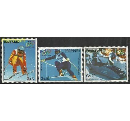 Znaczek Paragwaj 1987 Mi 4111-4113 Czyste **