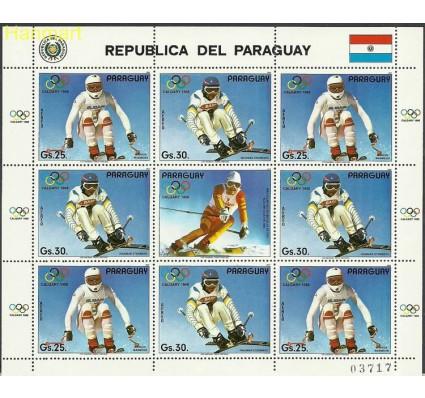 Znaczek Paragwaj 1987 Mi ark4114-4115 Czyste **