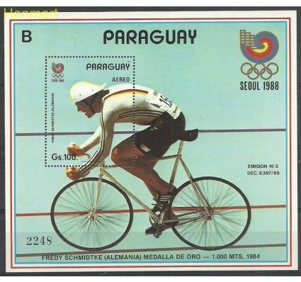 Znaczek Paragwaj 1987 Mi bl442 Czyste **