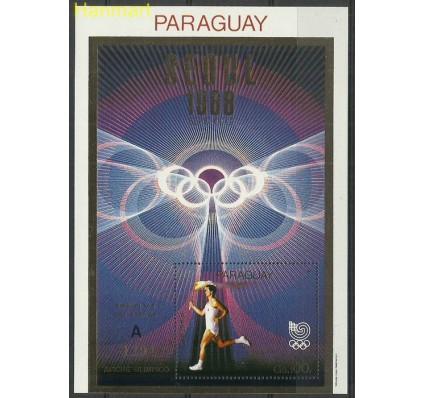 Znaczek Paragwaj 1988 Mi bl449a Czyste **