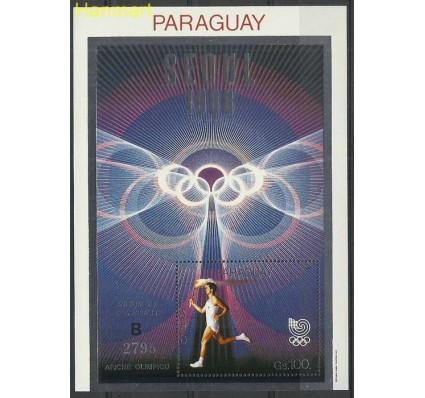 Znaczek Paragwaj 1988 Mi bl449b Czyste **