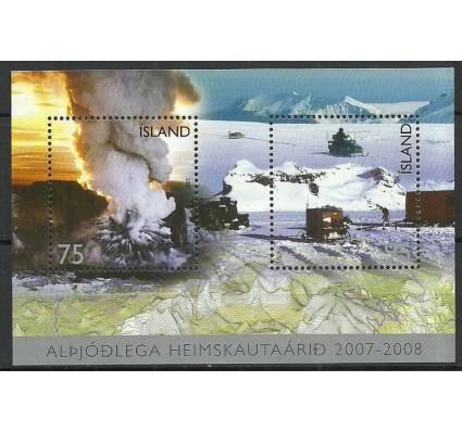 Znaczek Islandia 2007 Mi bl 42 Czyste **