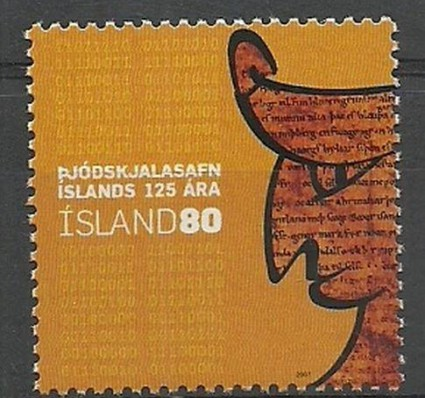 Znaczek Islandia 2007 Mi 1162 Czyste **