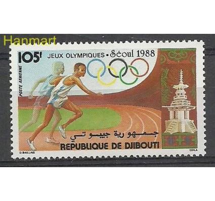 Znaczek Dżibuti 1988 Mi 509 Czyste **