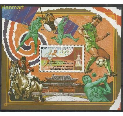 Znaczek Dżibuti 1988 Mi bl146 Czyste **