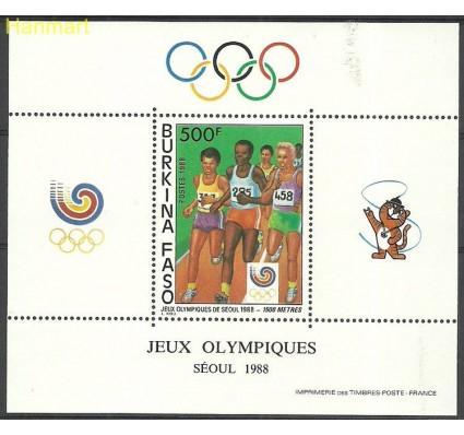 Znaczek Burkina Faso 1988 Mi bl130 Czyste **