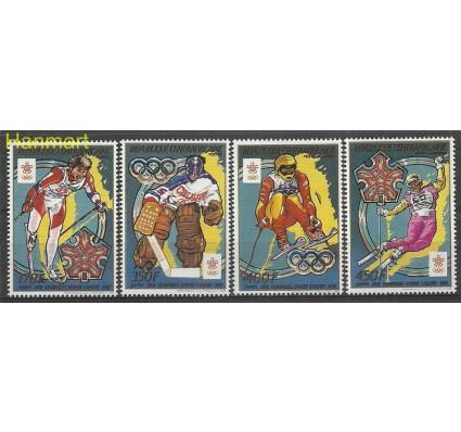 Znaczek Republika Środkowoafrykańska 1988 Mi 1343-1346 Czyste **