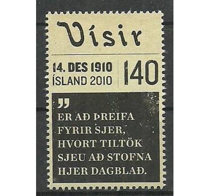 Znaczek Islandia 2010 Mi 1295 Czyste **