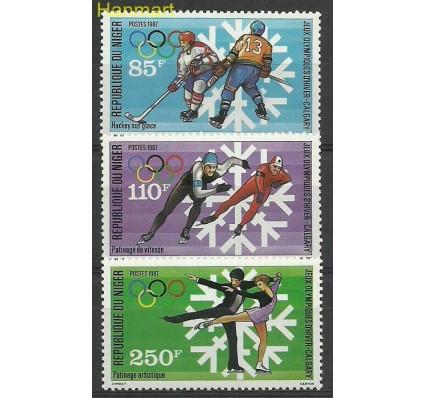 Znaczek Niger 1987 Mi 1019-1021 Czyste **
