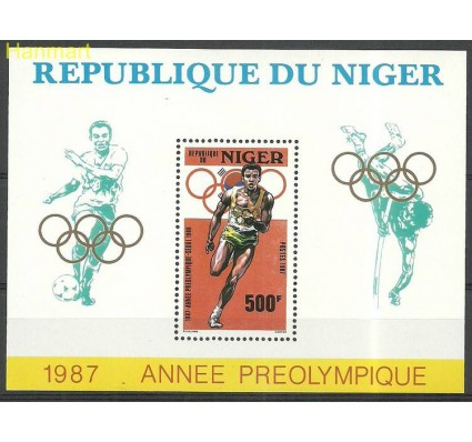 Znaczek Niger 1987 Mi bl50 Czyste **