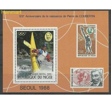 Znaczek Niger 1988 Mi bl53 Czyste **