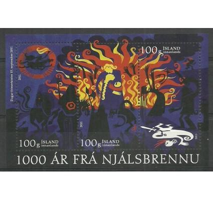 Znaczek Islandia 2011 Mi bl 55 Czyste **