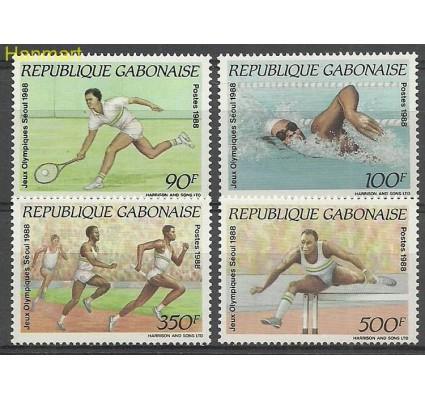 Znaczek Gabon 1988 Mi 1021-1024 Czyste **
