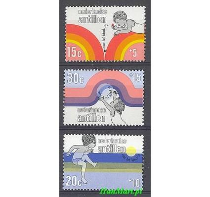 Antyle Holenderskie 1972 Mi 251-253 Czyste **