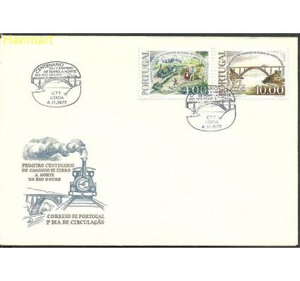 Znaczek Portugalia 1977 Mi 1376-1377 FDC