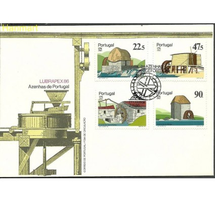 Znaczek Portugalia 1986 Mi 1704-1707 FDC