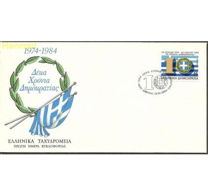 Znaczek Grecja 1984 Mi 1403-1408 FDC