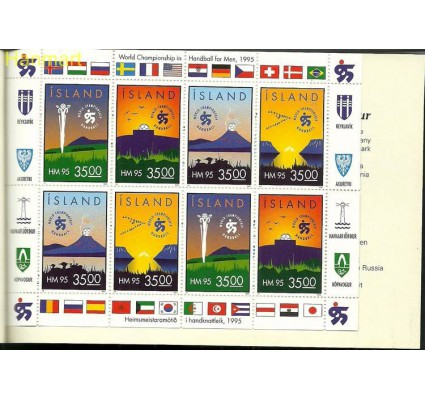 Znaczek Islandia 1995 Mi mh 7 Czyste **