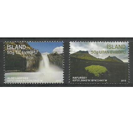 Znaczek Islandia 2013 Mi 1378-1379 Czyste **