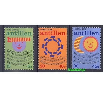 Antyle Holenderskie 1974 Mi 289-291 Czyste **