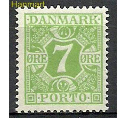 Znaczek Dania 1921 Mi por 12 Czyste **
