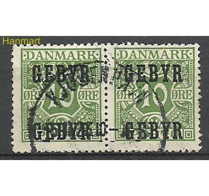 Znaczek Dania 1923 Mi ver14 Stemplowane