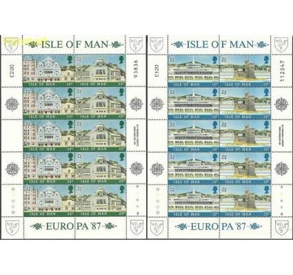 Znaczek Wyspa Man 1987 Mi ark 335-338 Czyste **