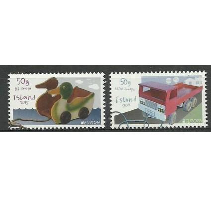Znaczek Islandia 2015 Mi 1459-1460 Czyste **