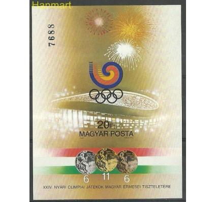 Znaczek Węgry 1988 Mi bl201B Czyste **