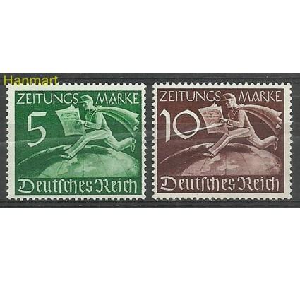 Znaczek Deutsches Reich / III Rzesza 1939 Mi z738-739 Czyste **