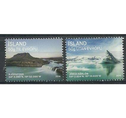 Znaczek Islandia 2016 Mi 1491-1492 Czyste **