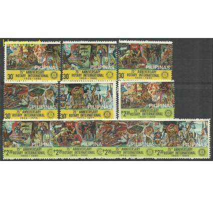 Znaczek Filipiny 1980 Mi 1343-1352 Czyste **