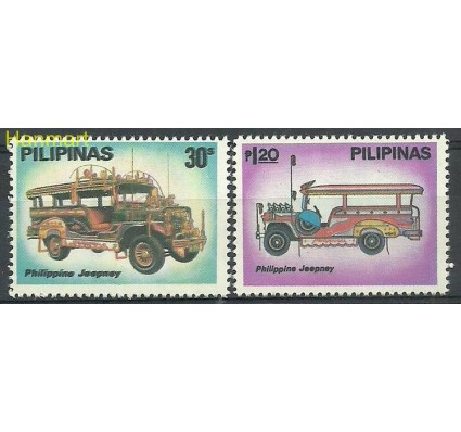 Znaczek Filipiny 1980 Mi 1359-1360 Czyste **