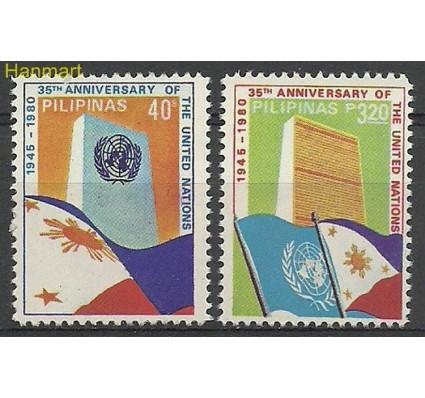 Znaczek Filipiny 1980 Mi 1378-1379 Czyste **