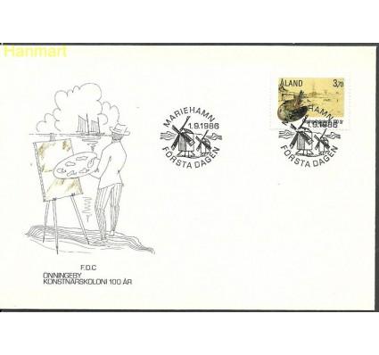 Znaczek Wyspy Alandzkie 1986 Mi 19 FDC