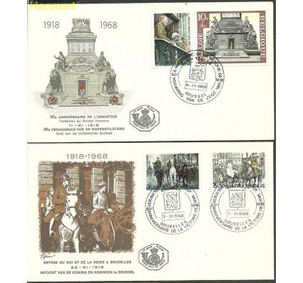 Znaczek Belgia 1968 Mi 1531-1534 FDC