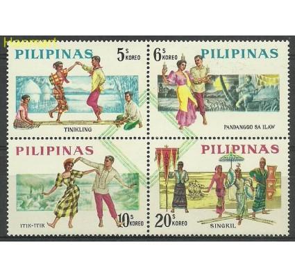 Znaczek Filipiny 1963 Mi 729-732 Czyste **